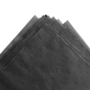 17gsm custom logo balck tissue paper