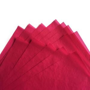 50x70cm lig-on nga kolor tissue nga papel pagputos