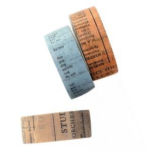 Custom printed paper tape, Fancy design adhesive tape