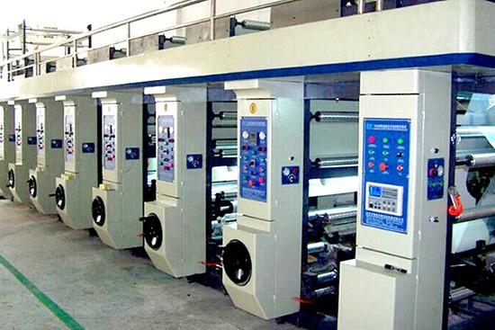 Gravure printing machine 6 color
