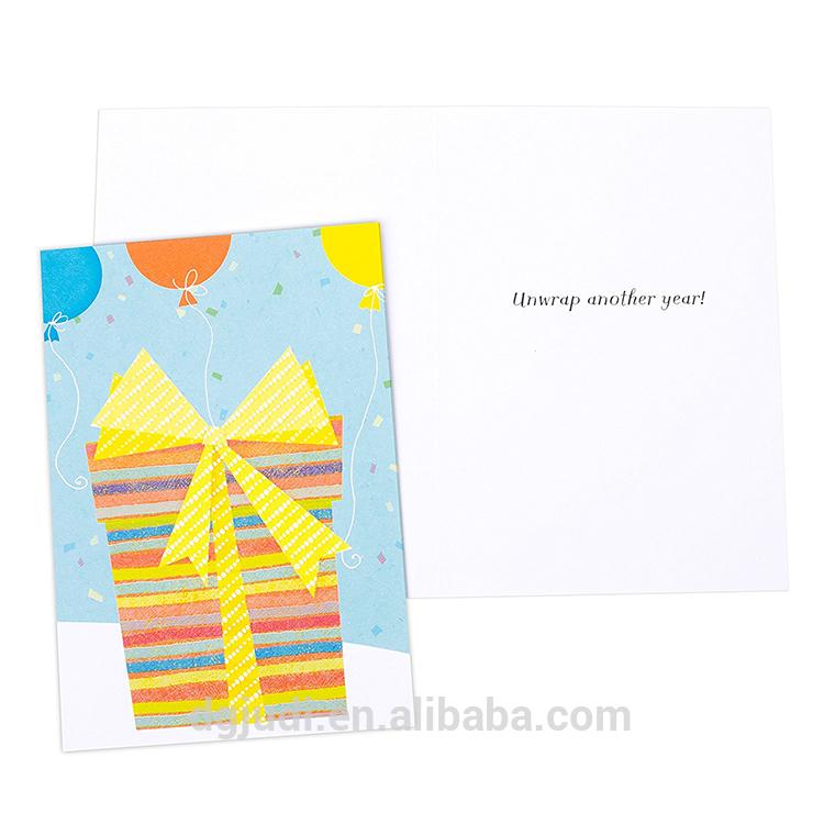 Big discounting Kraft Paper Carton Box - Custom birthday greeting card printing – JD Industrial