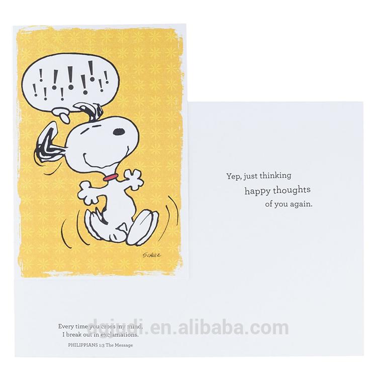 Custom Design Multi Pattern Handmade Greeting Card for Birthday ,Thank you