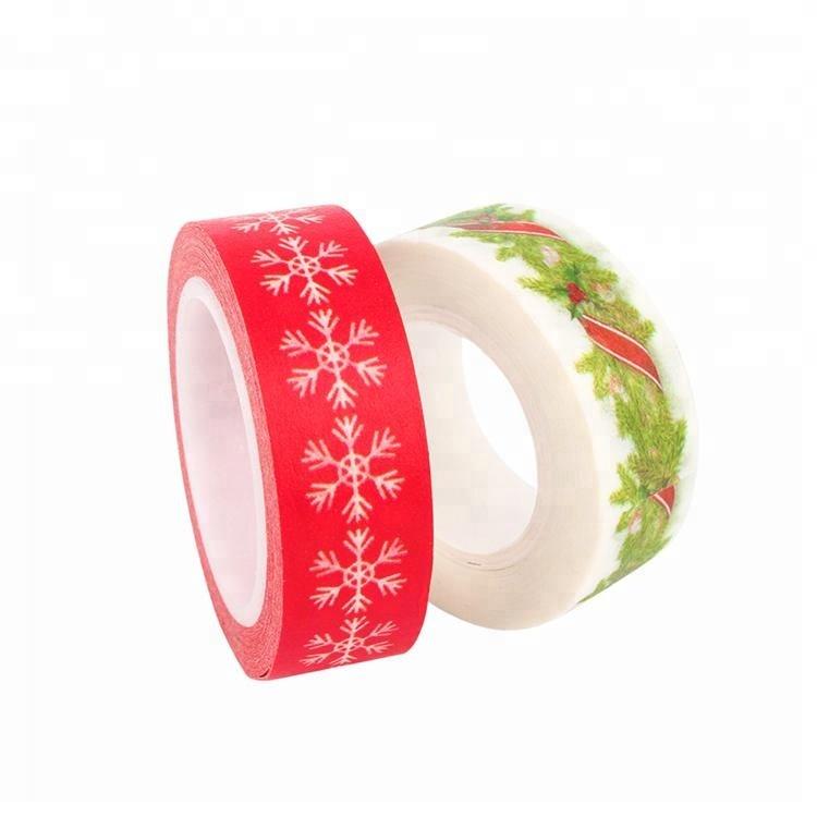 High reputation Velvet Ring Box - Custom printed washi Tape adhesive masking tape – JD Industrial