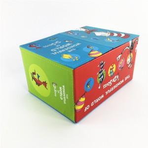 handcraft rigid gift box for book storage