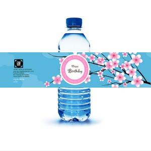 Colour Coating Adhesive Paper Bottled Beverage Usage Label Sticker